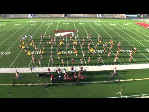 Tennessee High School Band The Odyssey 2014 Band Camp