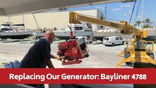 Replacing our Generator, Bayliner 4788 Motor Yacht: Westerbeke to Northern Lights