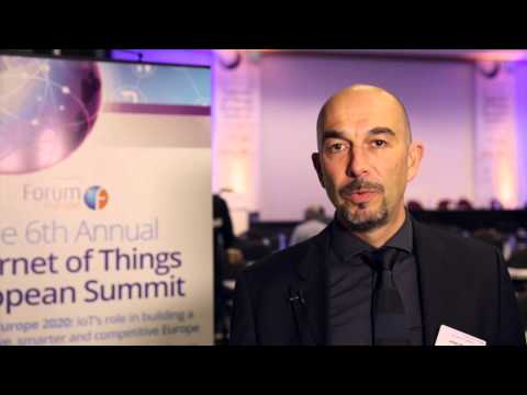 Interview with Johan Beckers at the IoT European Summit - Forum Europe
