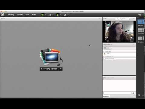 Sharing Video - Adobe Connect Tutorial.mp4