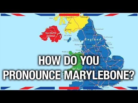 American tries and fails to pronounce UK place names correctly