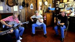 Larry's Barber Shop (Pt. 2): THE OCOEE PARKING LOT BLUEGRASS JAM 7-8-2013