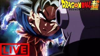 ULTRA INSTINCT DRAGONBALL SUPER LIVESTREAM