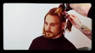 Mens Haircut Salon Tutorial_Colour and Haircut by Brian Haire/FreeSalonEducation
