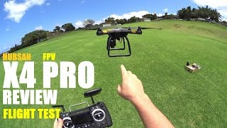 HUBSAN X4 PRO H109s FPV GPS QuadCopter Drone Review - Part 2 - [Flight Test, Pros & Cons]