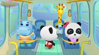 Bé chơi trò Gấu trúc cùng các bạn đến trường | Phim hoạt hình | kênh NHbaby