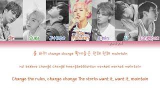 BTS - Crow Tit/Try-Hard (뱁새) (Color Coded Han|Rom|Eng Lyrics) | by Yankat