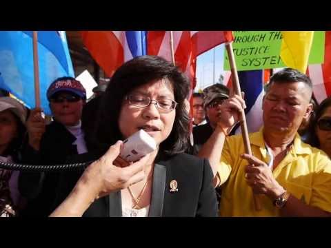 Network of Thais Overseas, Los Angeles, condemned Yingluck Shinawatra Government 2013-12-1