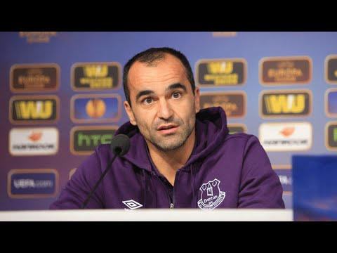 LIVE: Roberto Martinez's pre-Lille press conference