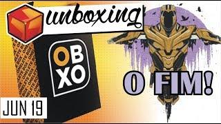 ACABOU! Unboxing OMELETEBOX JUNHO 2019