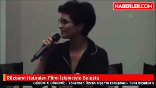 Tuba Büyüküstün  memories of the wind Antalya film festival 2015