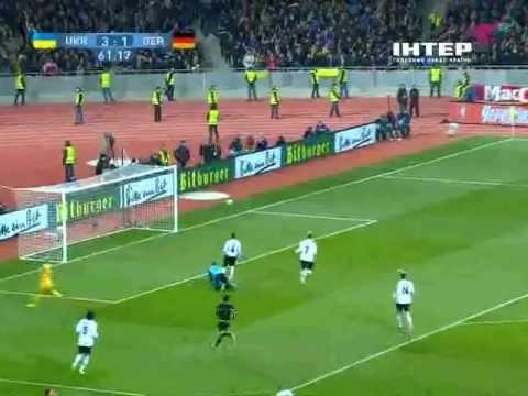 11.11.2011 Украина - Германия 3:3 ОБЗОР МАТЧА