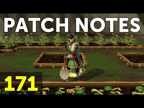 RuneScape Patch Notes #171 - 22nd May 2017
