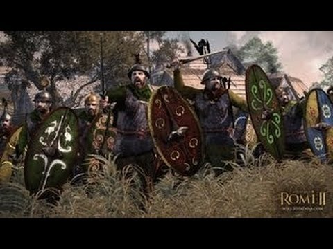 Total War Rome 2 - Battle of Teutoburg Forest Gameplay Walkthrough