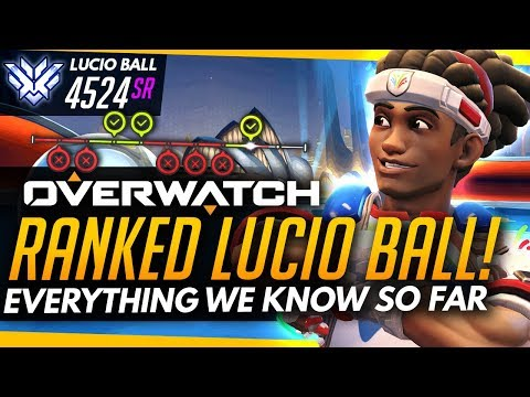 Overwatch | RANKED LUCIO BALL! What We Know So Far - Feat. LUCIO BALL 2016 GAMEPLAY