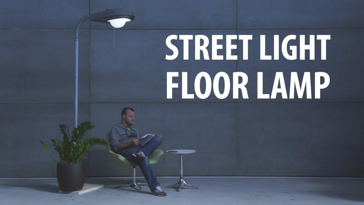 Street Light Floor Lamp Youtube