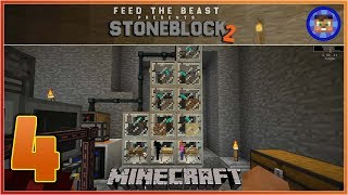 StoneBlock 2 Modpack Ep 4 - Automatic Sifting / Sieving
