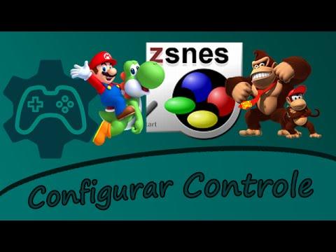 Como Configurar o Controle (Joystick) no Emulador Snes