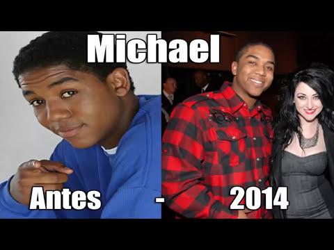 Zoey 101 Antes y Después 2014