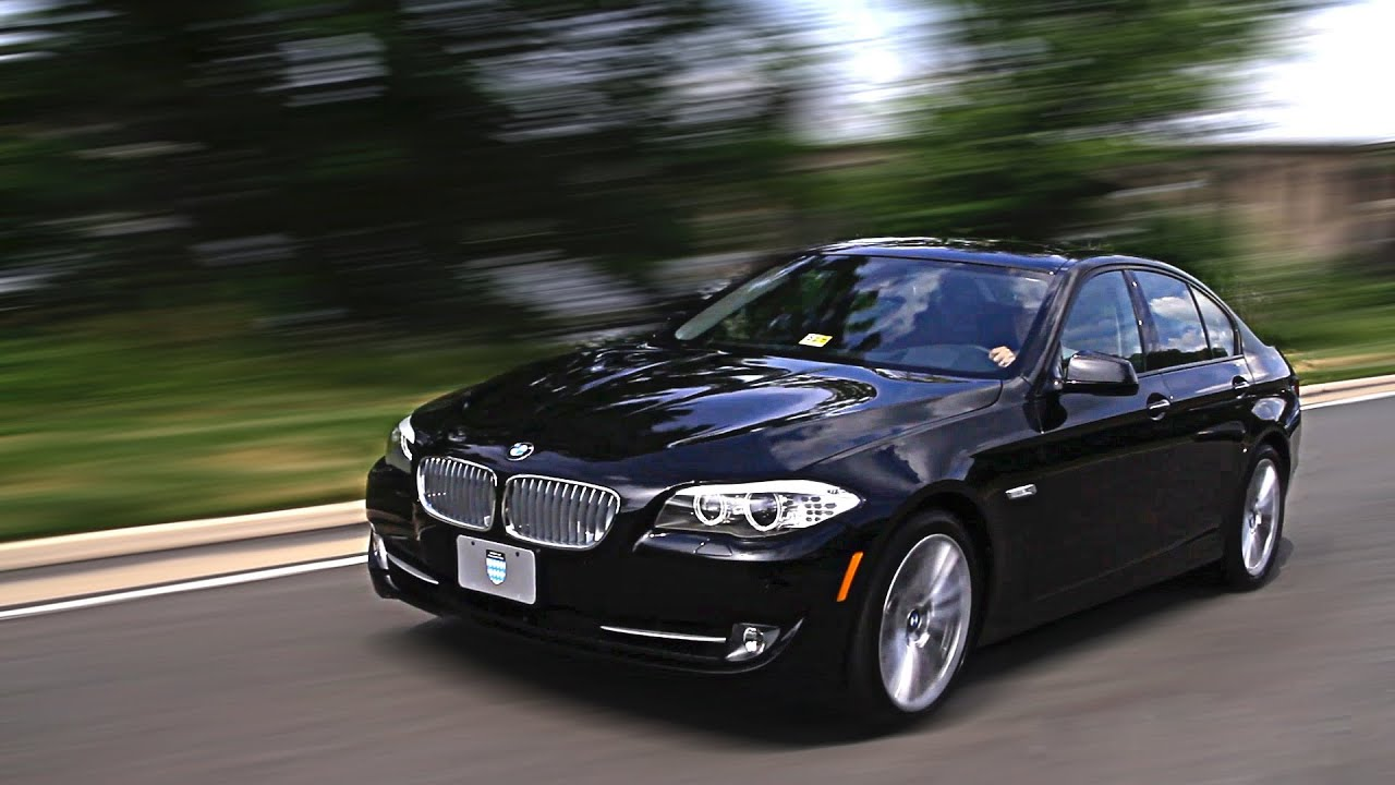 New BMW 5 Series Test Drive & Review - YouTube