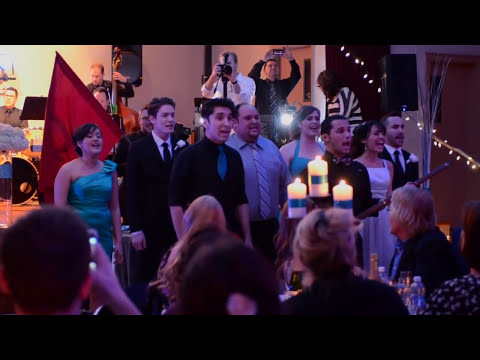 EPIC Les Misérables Wedding Flash Mob