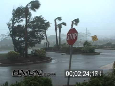 7/10/2005 Hurricane Dennis Video Part 12,  Hurricane Dennis Hits Navarre, Florida