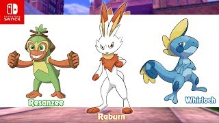 Grookey, Scorbunny, and Sobble Receive Evolutions in Pokemon Sword and Shield! [fanmade]