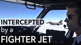 Intercepted by a fighter-jet, Why!? Mentour Pilot explains