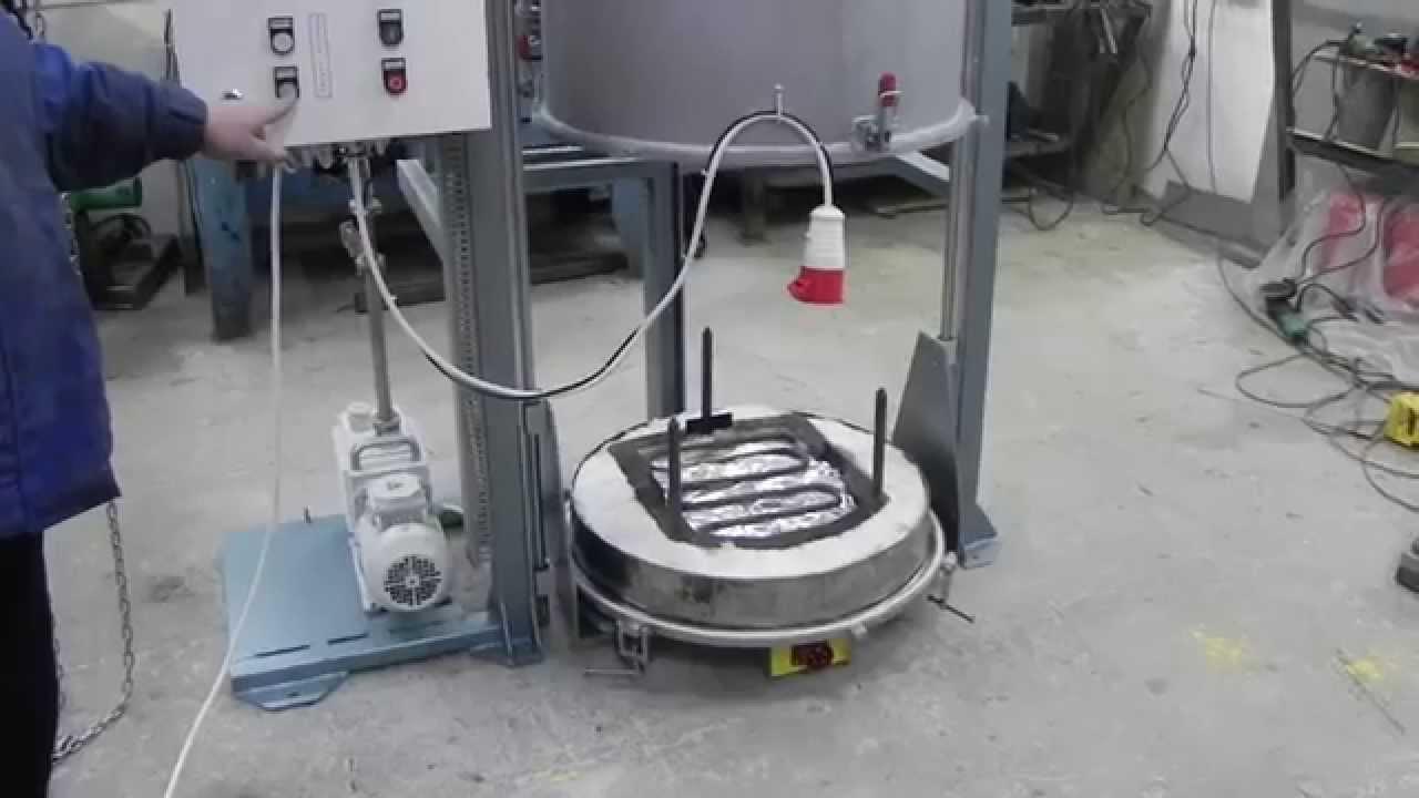 Вакуумная печь