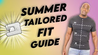IT'S T-SHIRT TIME! Make Yours Fit FANTASTIC!