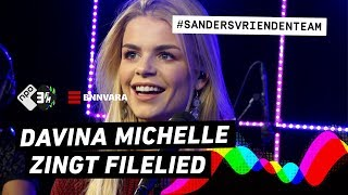 Davina Michelle zingt filelied | Sanders Vriendenteam | 3FM Gemist
