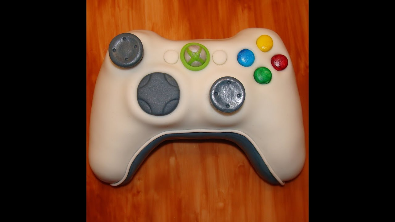 How To Make A Xbox Controller Cake