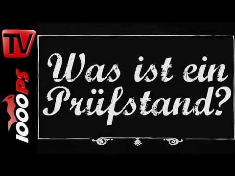 Was ist ein Pr�fstand? - Motorrad Lexikon