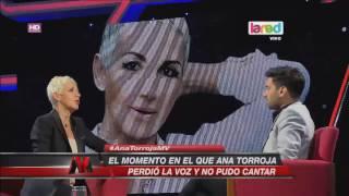 Ana Torroja comentó el duro momento en que perdió su voz