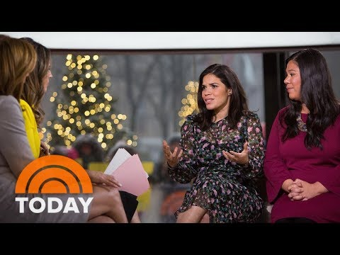 America Ferrera Speaks Out About 'Time's Up' Anti-Harassment Plan | TODAY