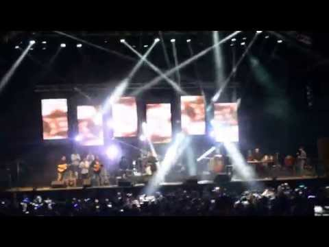 Amr Diab Dubai Media City 2014 Amarain