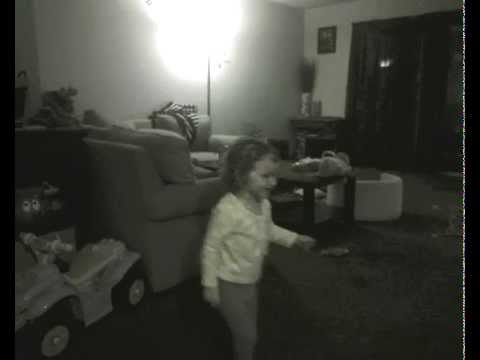 2 Year Old Sister Chucks Her Brother Across The Room video