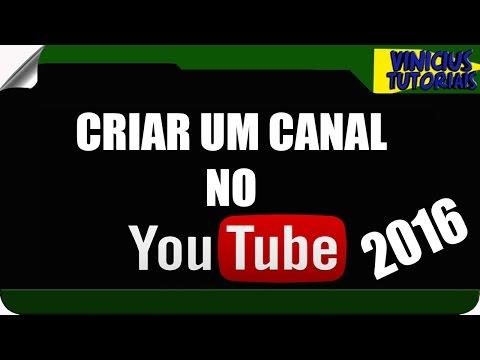 COMO CRIAR UM CANAL NO YOUTUBE✓ATUALIZADO 2016✓PASSO A PASSO thumbnail
