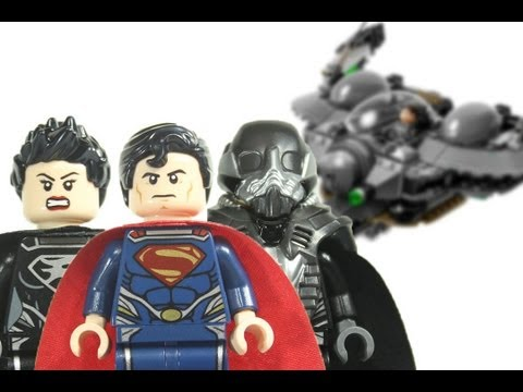 LEGO Man of Steel DC SuperHeroes 76003 Superman: Battle of Smallville 2013 Review