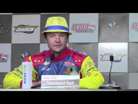 Townsend Bell's 2013 Indy 500 Pole Day Press Conference