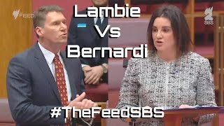 Jacqui Lambi Vs Cory Bernardi - The Feed