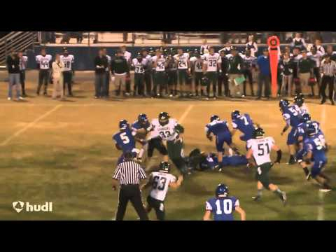 Richard Colton Rogers Silverdale Baptist Academy Football Highlights 2013