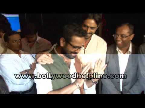 Rishi Kapoor,Arjun Rampal & Irfan Khan At First Look Launch Of Film 'D Day'