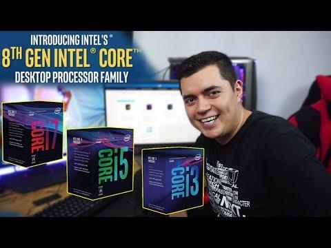 Intel contra-ataca a AMD | Todo sobre los 8va generación de intel coffe lake - Proto HW