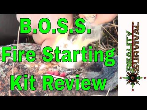 SOS BOSS Fire Starting Kit Review