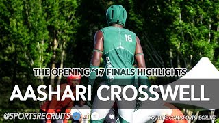 Aashari Crosswell: 2018 DB / The Opening Finals Highlights (Long Beach Poly, CA)