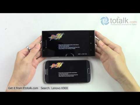 Lenovo K900 VS Samsung Galaxy S4