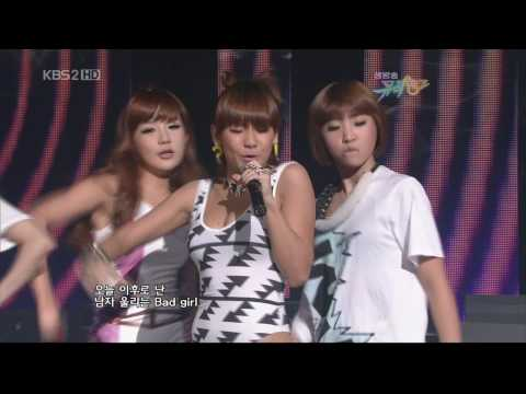 2ne1~i Don't Care (remix Vers.) + Award 31.07.09 video