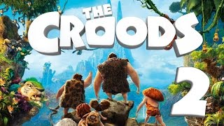 The Croods: Prehistoric Party (WiiU, Wii) Gameplay Part 2 : Jungle