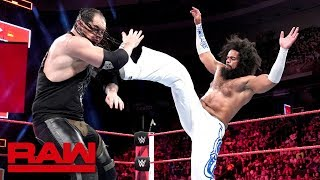 No Way Jose vs. Baron Corbin: Raw, May 21, 2018